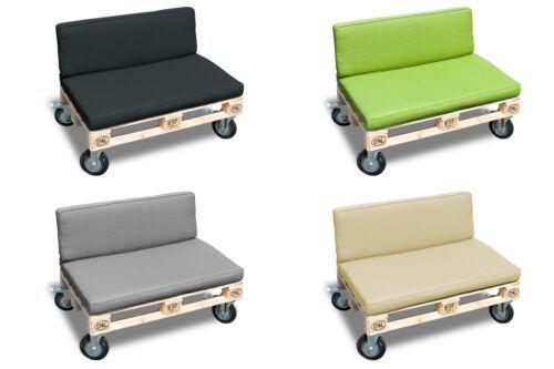 Palettes Tirage Basic coussins de dos coussin de siège en 4 couleurs différentes