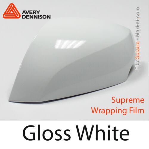 Total Covering AV2100001 Gloss White Avery Dennison Supreme Wrapping Film