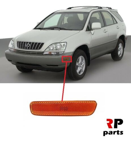 FOR LEXUS RX 300 1999-2003 FRONT BUMPER SIDE INDICATOR REPEATER ORANGE LEFT