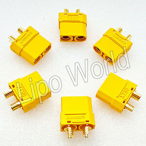 XT90-BUCHSE-FEMALE-ORIGINAL-AMASS-Qualitaet-Modellbau-Adapter-Kabel-Lipo-Akku