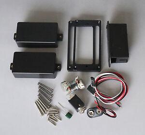 active humbucking pickups set 81 85 works with emg output. Black Bedroom Furniture Sets. Home Design Ideas