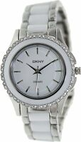 DKNY Women's NY8818 Two-Tone Ceramic Watch