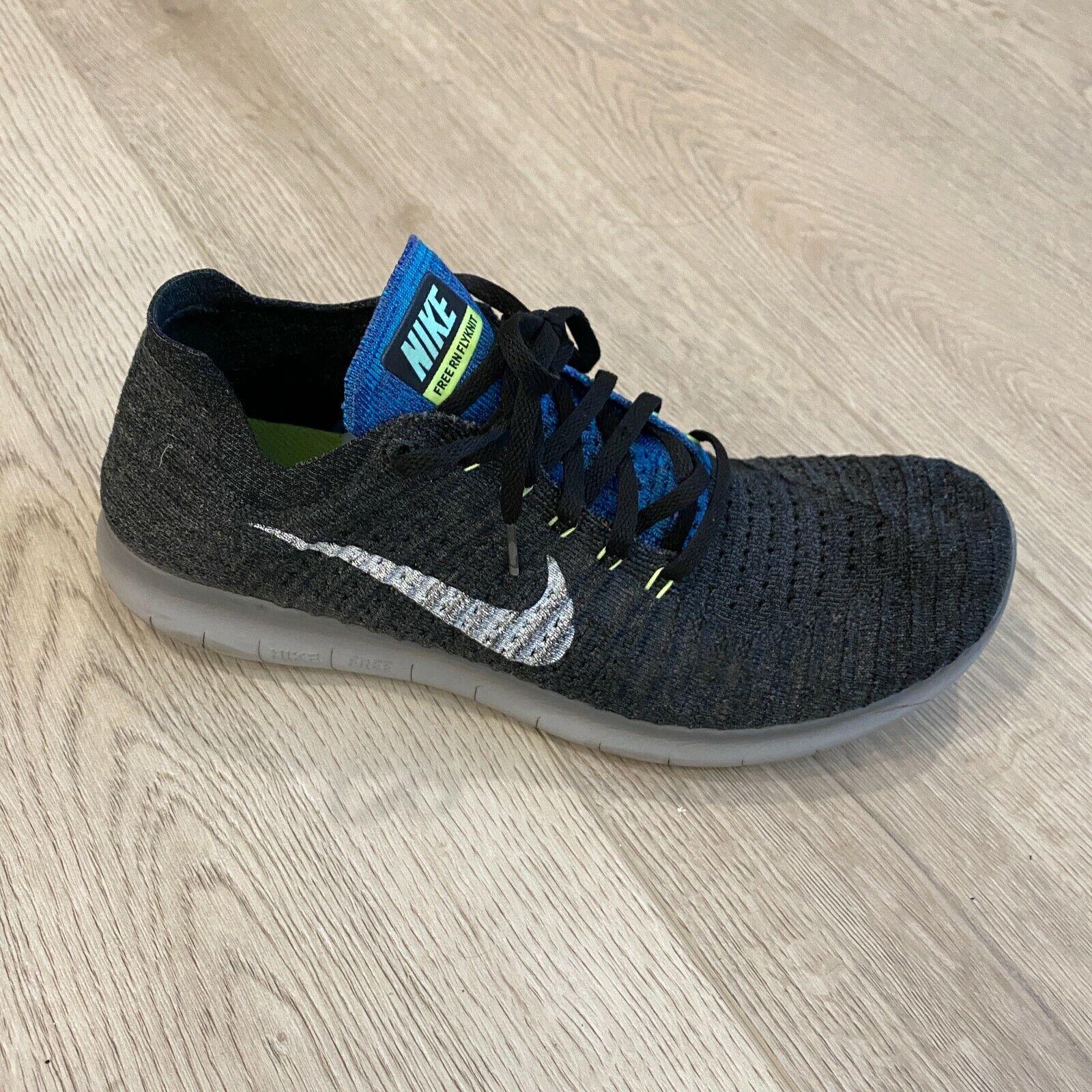 accoppiatore Positivo terra  Nike RN Flyknit 2017 Run Blue Orbit Pure Platinum Men Running 880843-403  10.5 for sale online   eBay