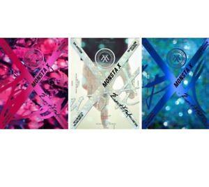 MONSTA-X-BEAUTIFUL-1st-Album-Random-Ver-CD-Post-Photo-Card-Lyrics-Sticker-KPOP