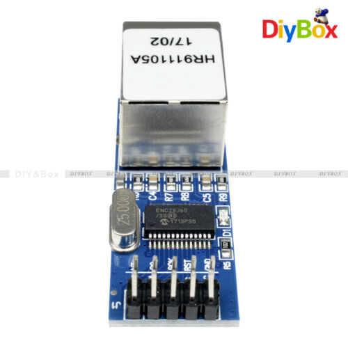 MiNi ENC28J60 Ethernet LAN Network Module SPI AVR PIC LPC STM32 For Arduino