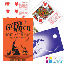 GYPSY WITCH TAROT DECK PLAYING CARDS ESOTERIC TELLING US GAMES SYSTEMS NEW