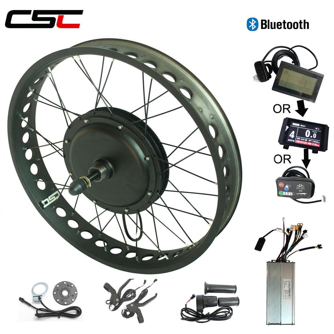 Regeneration 750W 1000W 1500W Wheel 26 Electric Bike Motor Fat Snow Kit Ebike