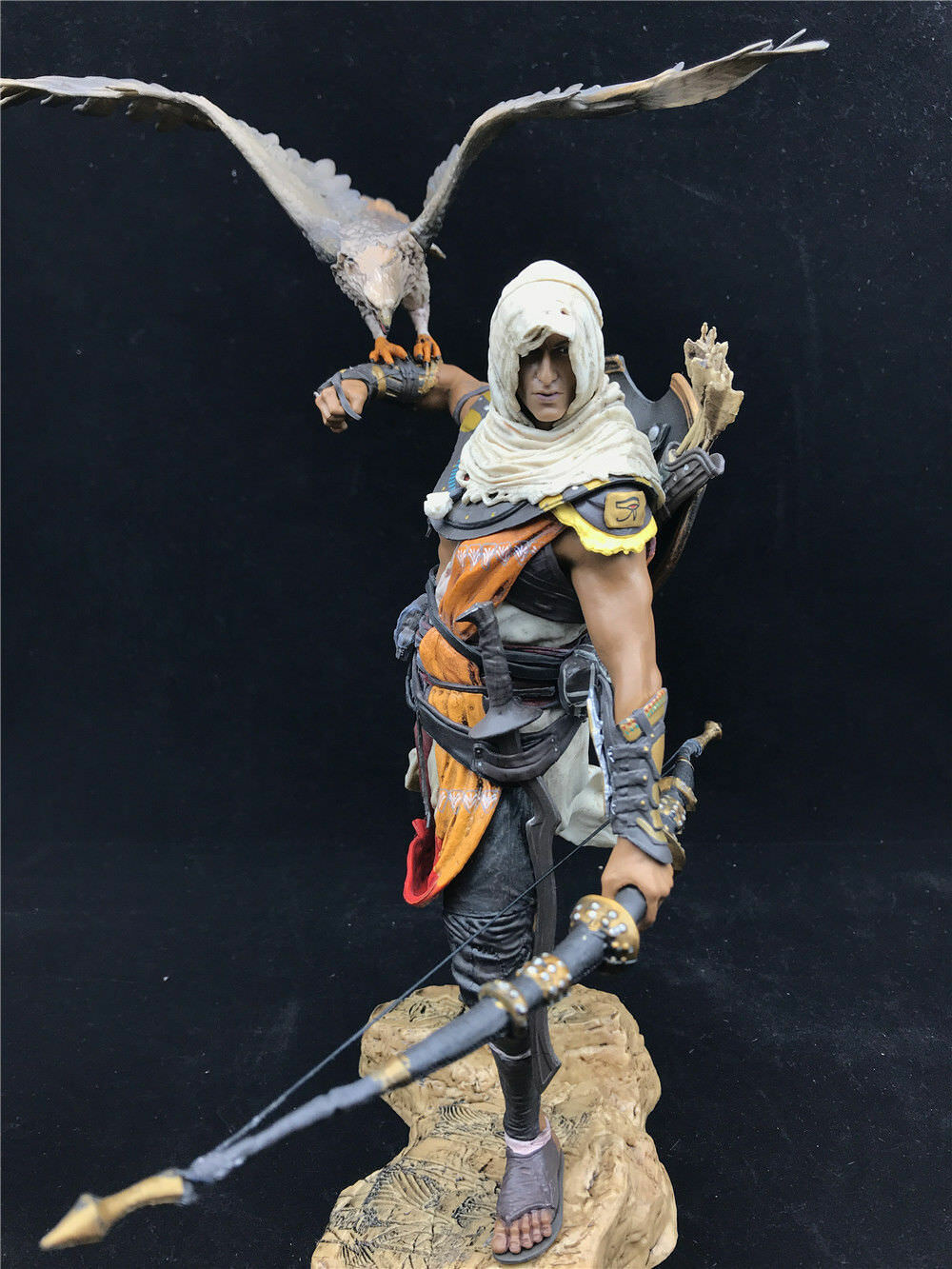 New Assassin S Creed Origins Bayek Aya Statue Figure Pvc