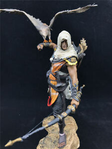 Hot Assassin S Creed Toys Model Origins Bayek Aya Statue Figure