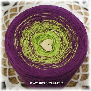 200g//1000m//3ply Skye Mandala Yarn Gradient Cake Yarn