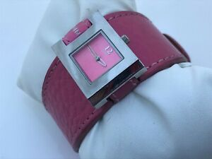 Strom-Women-Watch-Pink-Genuine-Leather-Band-Analog-Ladies-Wrist-Watch