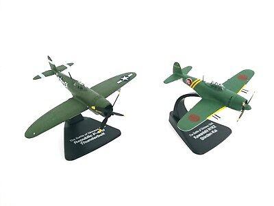 Ordinato Lot De 2 Avions Ww2 1/72 Atlas Thunderbolt + Shinden- Okinawa Model Aircraft 023 Volume Grande