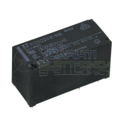 FTR K1CK024W-MA Relè con bobina 24V Spdt Singolo scambio 12A 250V 5 Pin