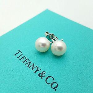 Image Is Loading Tiffany Amp Co 18k 750 White Gold 8