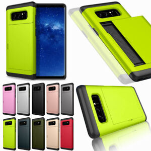 For-Samsung-Galaxy-Note-9-8-5-4-Credit-Card-Holder-Shockproof-Rugged-Luxury-Case