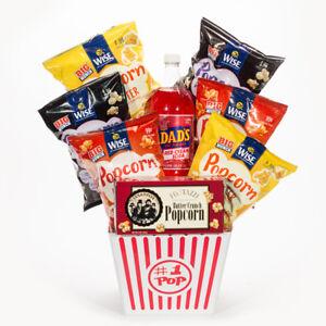 Image is loading 1-Pop-Popcorn-Gift-Basket
