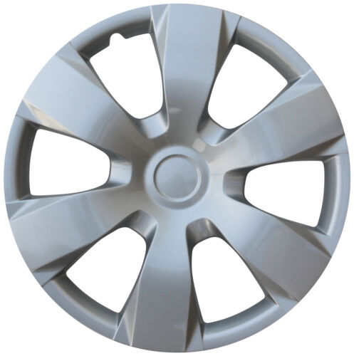 """4 Pc Hub Cap Set Silver Fits 2007 08 09 TOYOTA CAMRY 16/"""" Wheel Cover Caps Covers"""