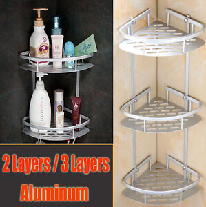 Image Is Loading Triangular Shower Caddy Shelf Bathroom Corner Bath Rack