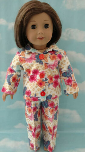 "18/"" Doll Pajamas fits 18 inch American Girl Doll Clothes 403abcd"