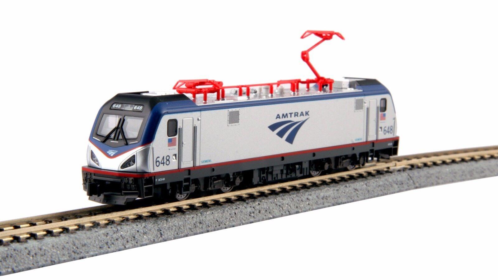 KATO 1373003 N SCALE ACS-64 Amtrak 648 Electric SIEMENS CITY SPRINTER 137-3003