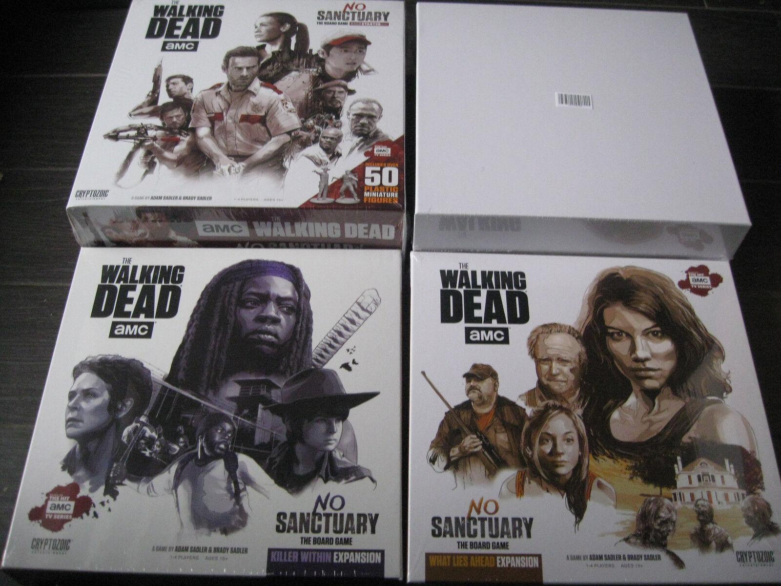 The Walking Dead No santuario juego KickEstrellater exclusivo promesa con expansiones