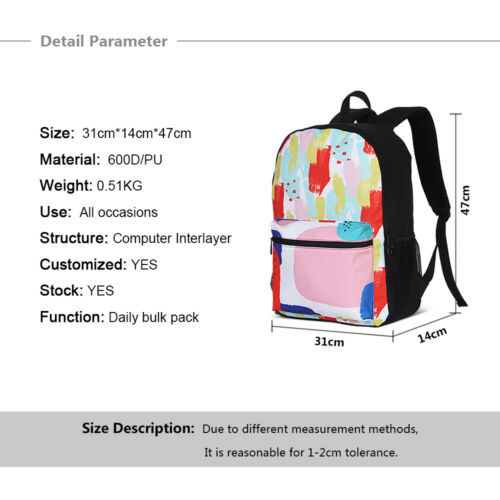 Husky Cute Dogs Wholesale Backpack Lunch Insulated Bag Crossbody Pencil Case Set