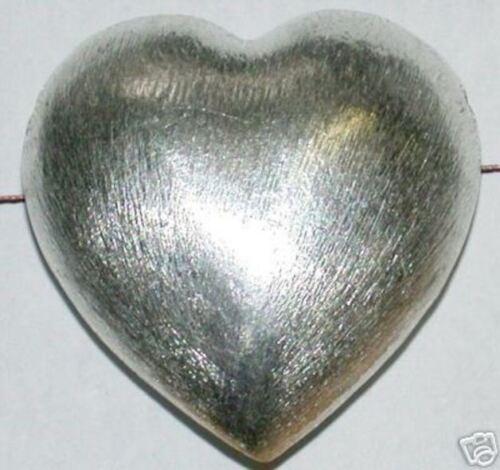 20 MM cuivre coeur argenté long percés 5619.