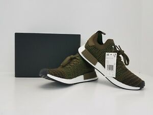 hot sale online 0eaf3 eb015 La foto se está cargando Adidas-NMD-R1-STLT-PK-Nomad-Primeknit-traolv-