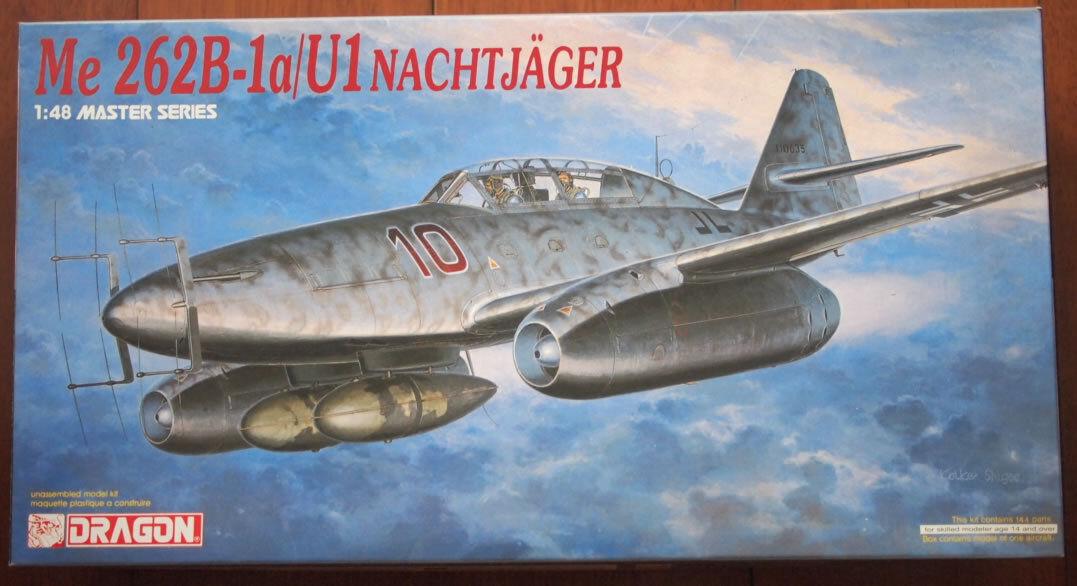 Dragon 1 48 Me262 Me 262B-1a U1 Nachtjager 5519