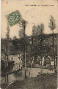CPA Confolens Le Pont de l'Ecuyer FRANCE (1074222)
