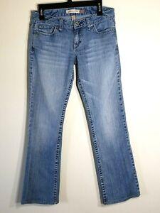 AEROPOSTALE-Women-039-s-Chelsea-Bootcut-Medium-Wash-Blue-Jeans-size-9-10-Long