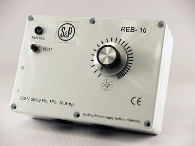 pas Flakt Woods ME1.6 S/&p Soler et Palau 3 A REB3 variateur de vitesse électronique