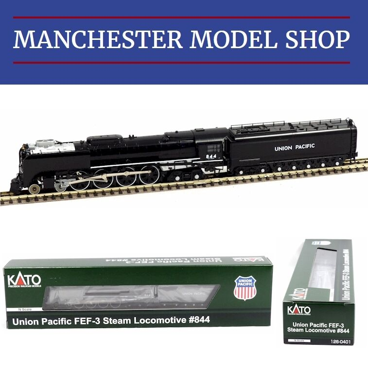 barato y de alta calidad Kato 126-0401 N 1 160 160 160 FEF-3 Steam Passenger Locomotive Union Pacific No.844 NEW  compras en linea