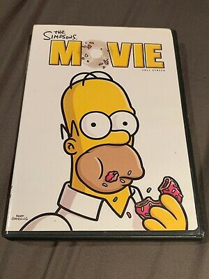 The Simpsons Movie Dvd Full Screen Ebay