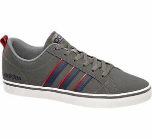 Neu Grau adidas Herren Vs Pace Sneaker Schwarz Synthetik