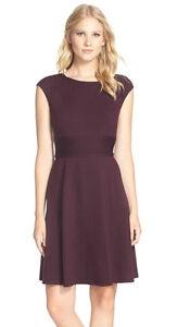 ELIZA-J-Nordstrom-Seam-Detail-Crepe-A-Line-Cap-Sleeve-Dress-16-FASHION ...