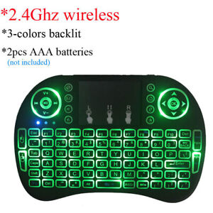 Details about Useful keyboard & Mouse Bundles Wireless Wireless Mini  Touchpad With Smart Box