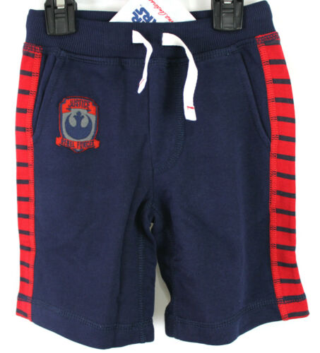 Hanna Andersson Star Wars Shorts Navy Red Chewy Millenium Falcon Size 110 5 NWT