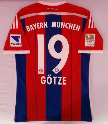 Comme Gotze 2015 le Munchen 2014 Adizero Allemagne Goetze Bundes usé Bayern numéro OqPwYSp1