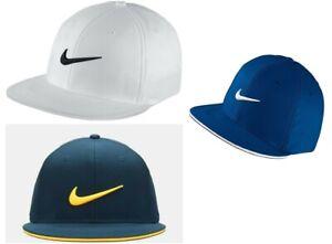 57a99b9ca Details about Nike True Tour Statement Flex Fit Golf Cap Golf Hat Stretch  to fit Design