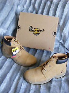 Brand New Womens Dr Martens Workman AW501 14141230 Honey Safety Boots UK 9 EU 43