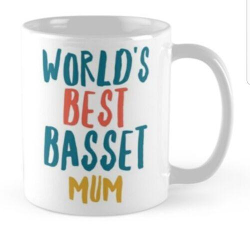 BASSET GIFT IDEA MUG PRESENT FOR LOVER OF BREED