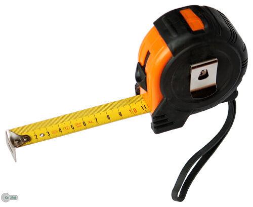 Maßband Rollmaßband Rollbandmaß Rollmeter 10 m orange