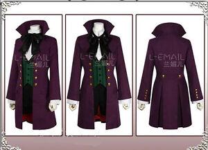 Black Butler Season 2 Earl Alois Trancy Outfit Cosplay Costume Custom-made