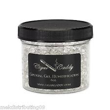 Cigar Caddy 4oz Humidifier Jar for 150 cigars Hydrating Gel Crystal Reusable