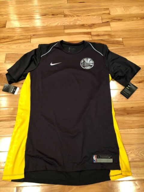 Nike Golden State Warriors Anthracite Dri-Fit Shooting Shirt 918154 014 LARGE