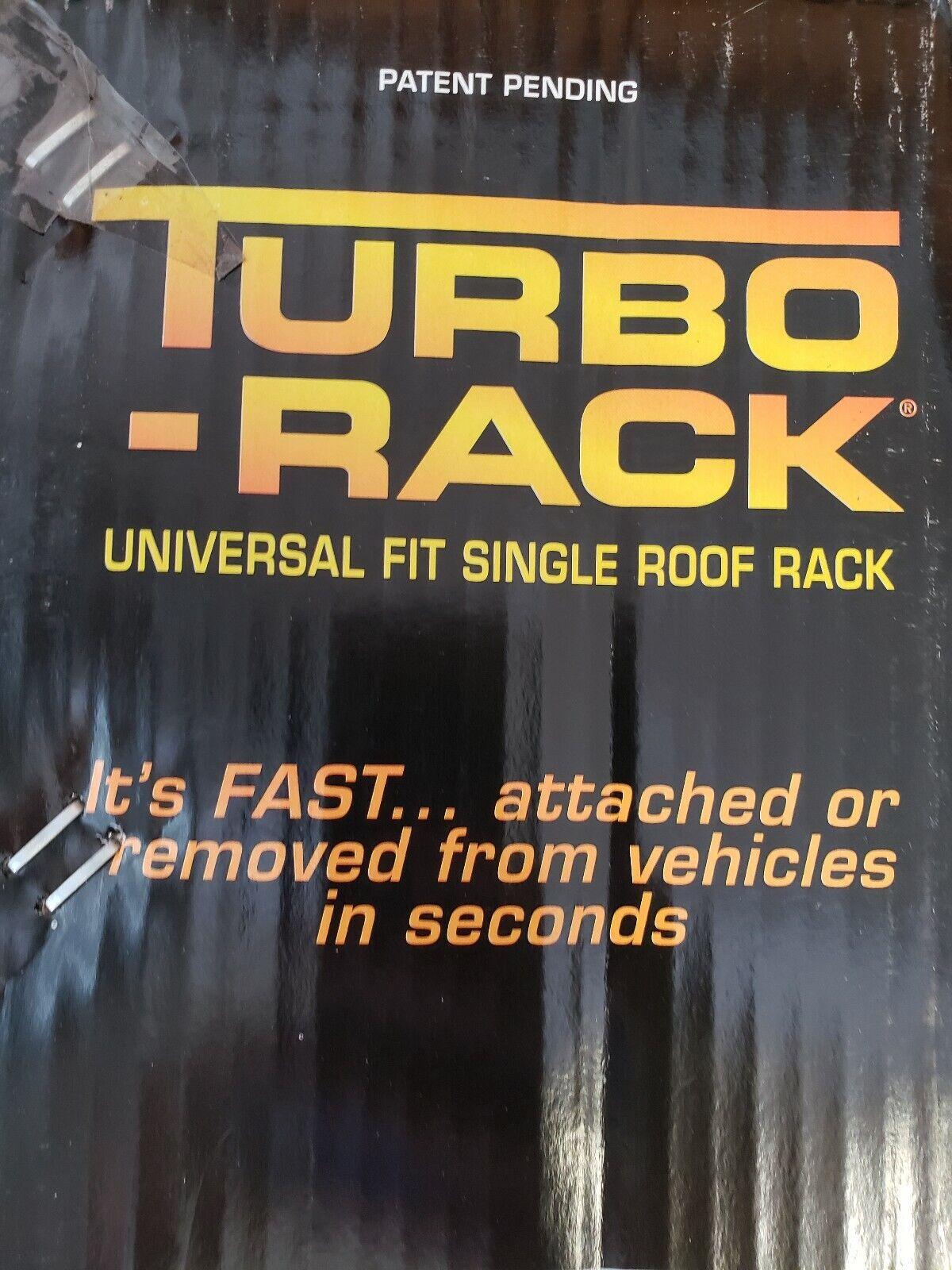 Darby Industries 968 Black Roof Turbo Rack