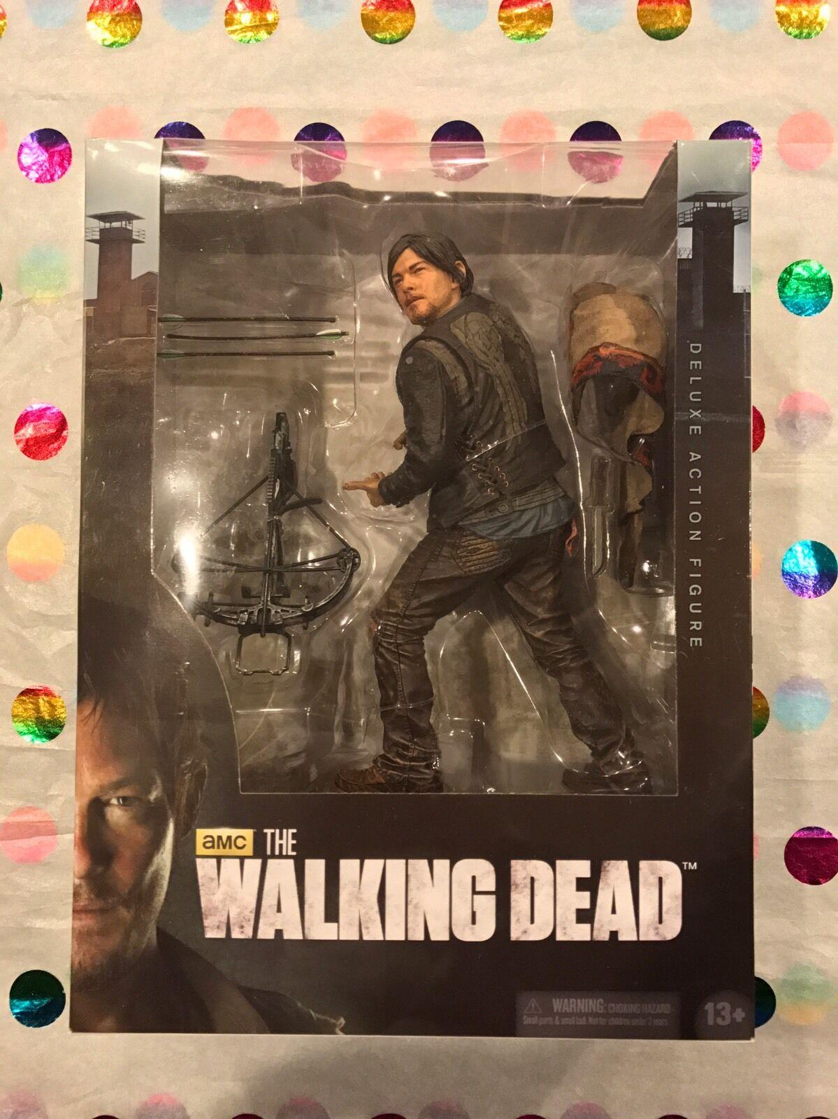 Mcfarlane walking dead deluxe 10 zentimeter daryl dixon actionfigur amc - zombies
