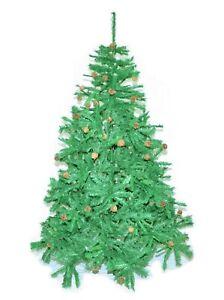 Albero Di Natale Ecologico.Albero Di Natale Cm 180 Ecologico Pigne Vere Alta Qualita Molto Folto Foto Reale Ebay