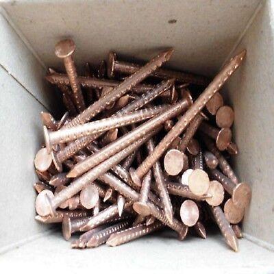 Kupfer Rinnen Nägel 42/65mm 1kg Paket Für Cu Haken Halter Dachrinne Rohr Bogen Sparen Sie 50-70% Fürs Dach